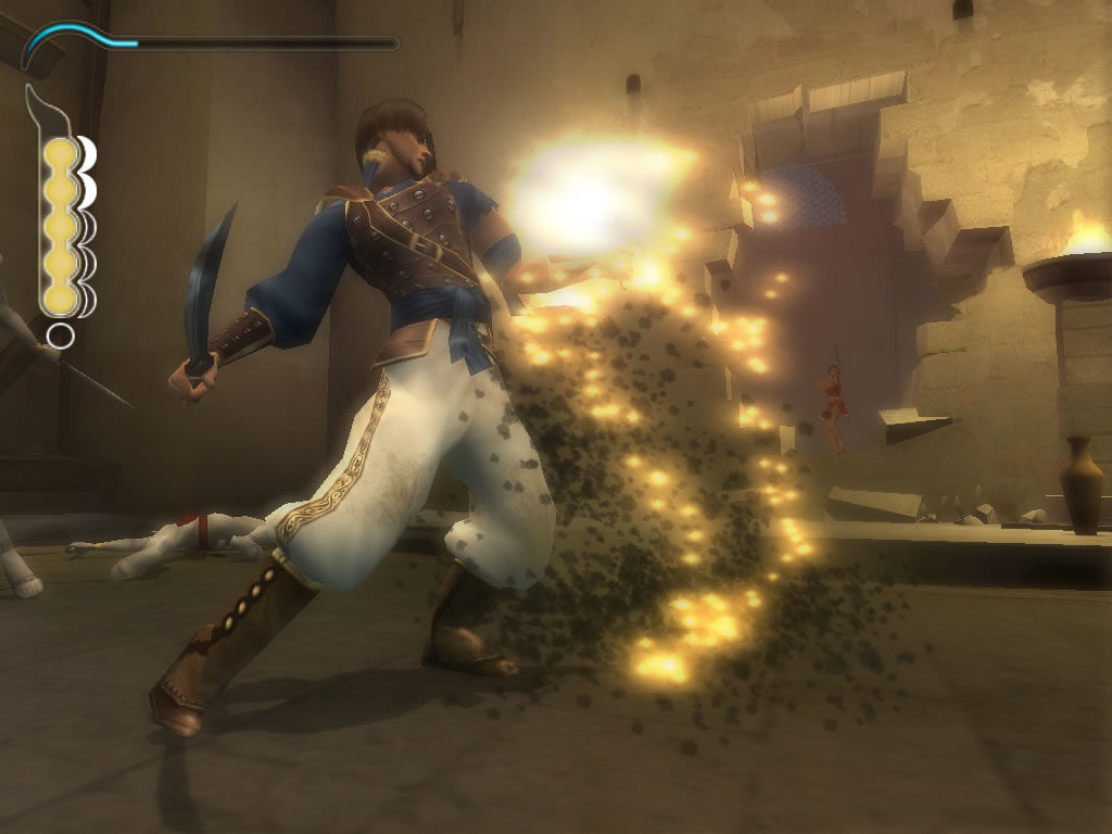 Prince of Persia: The Sands of Time Windows Some enemies keep resurrecting until you finish them off with your dagger
