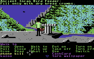 Zak McKracken and the Alien Mindbenders Commodore 64 Incan artifacts in Peru.