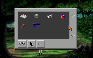 Space Quest II: Roger Wilco in Vohaul's Revenge Windows Inventory