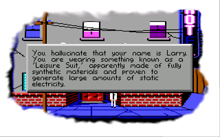 Space Quest II: Roger Wilco in Vohaul's Revenge Windows Weird dream