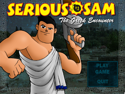 Serious Sam: The Greek Encounter Windows Title screen