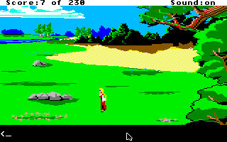 King's Quest IV: The Perils of Rosella Apple IIgs Pasture.