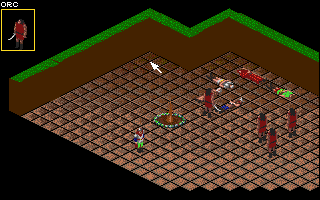 Realms of Arkania: Blade of Destiny Amiga Attacked while at camp.