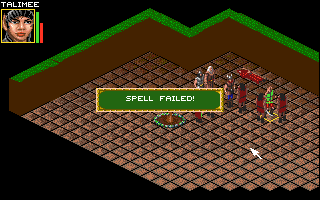 Realms of Arkania: Blade of Destiny Amiga Spells don't always cast successfully.