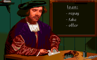 The Patrician Amiga Managing loans.