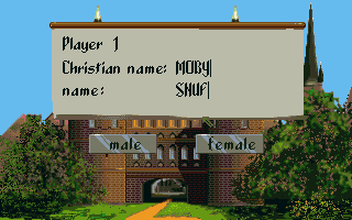 The Patrician Amiga Naming player 1.