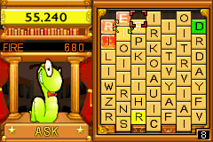 Bookworm Deluxe Game Boy Advance This word's quite appropriate