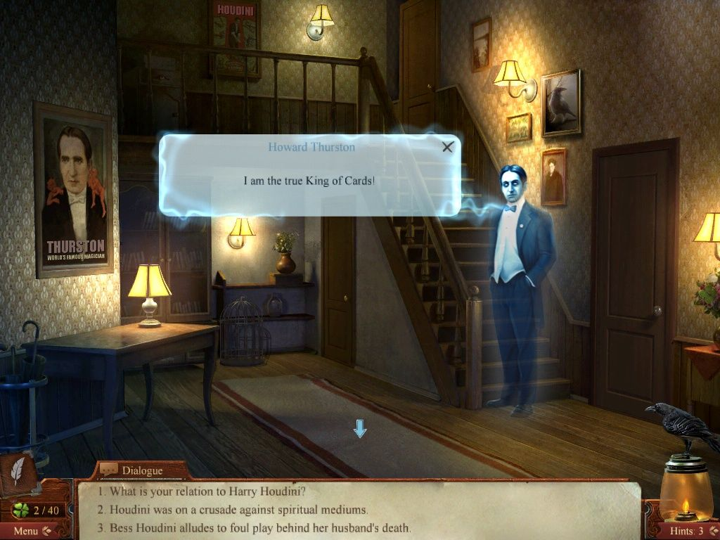 Midnight Mysteries: Haunted Houdini iPad Narrative with Howard Thurston