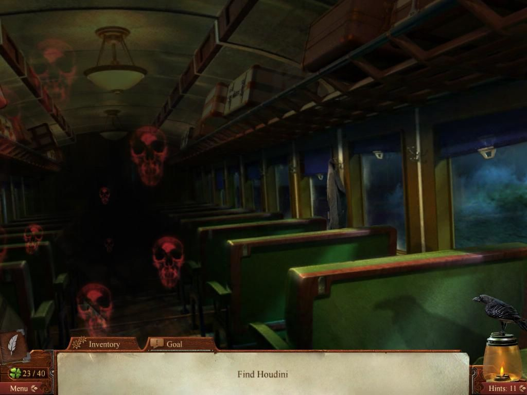 Midnight Mysteries: Haunted Houdini iPad Ghosts on the train