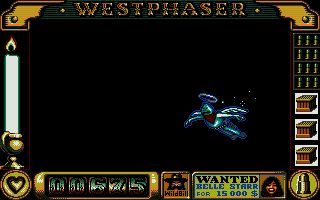 West Phaser Atari ST Game over