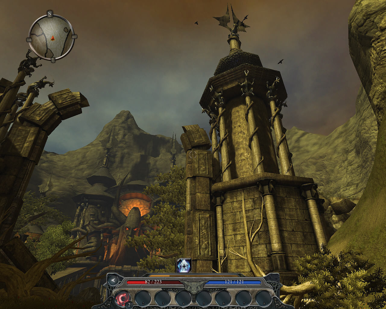 Divinity II: Ego Draconis Windows Maxos Tower is ahead - full of battles and riddles