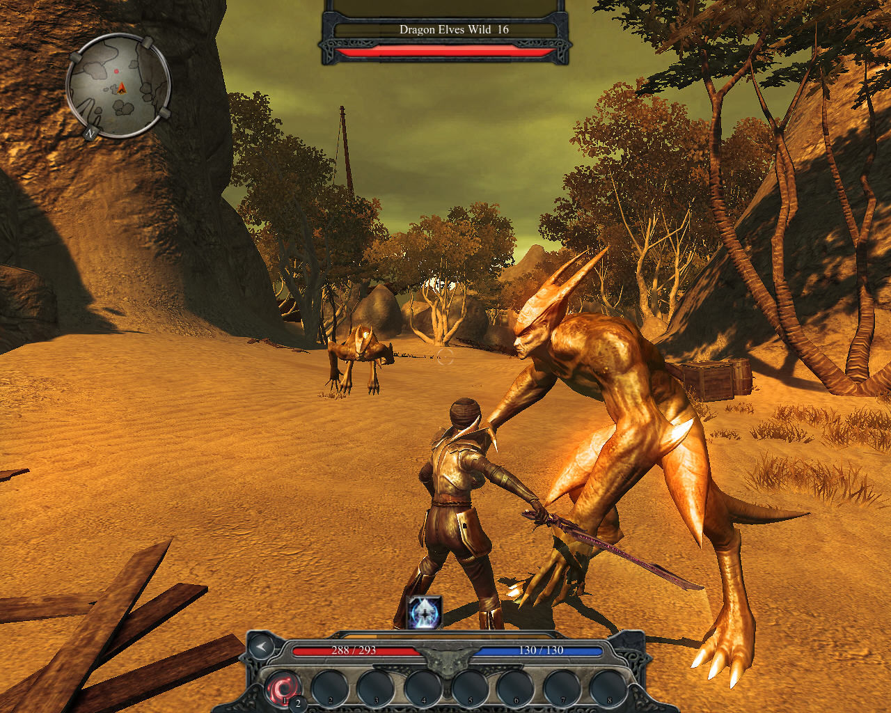 Divinity II: Ego Draconis Windows Dragon Elves roam the island and will attack you on sight