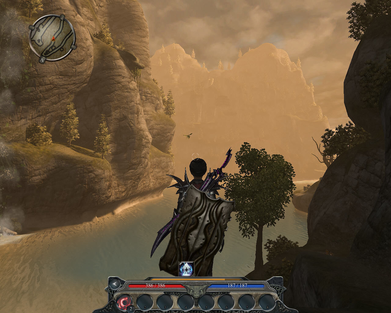 Divinity II: Ego Draconis Windows Beautiful view of the Fjords, as a human