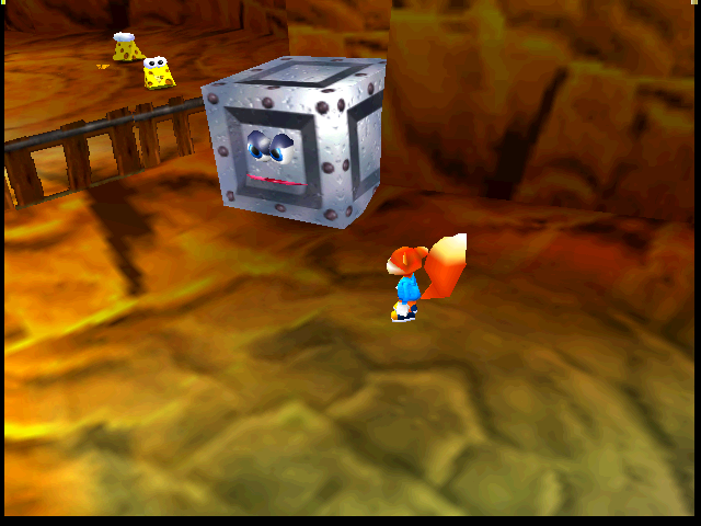 Conker's Bad Fur Day Nintendo 64 Face on iron