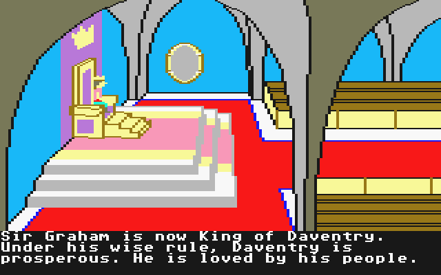 King's Quest II: Romancing the Throne Atari ST Intro