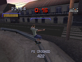 Tony Hawk's Pro Skater 3 PlayStation Grinding in Rio.