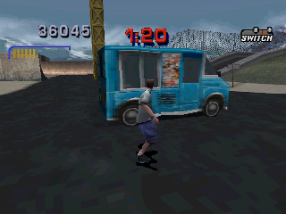 Tony Hawk's Pro Skater 3 PlayStation In Suburbia: I want an ice cream please.