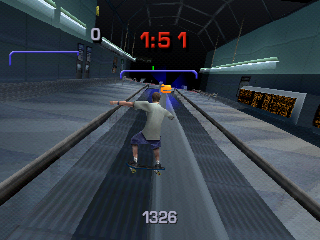 Tony Hawk's Pro Skater 3 PlayStation In airport.