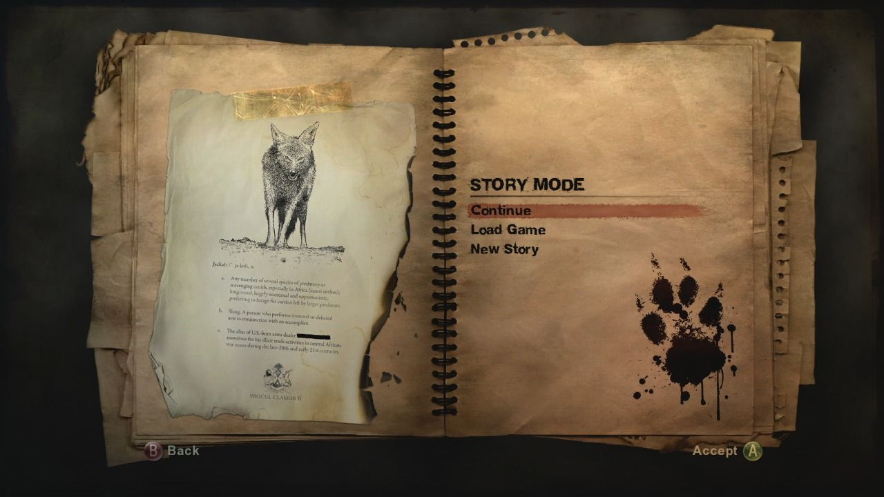 Far Cry 2 Xbox 360 Story mode revolves around hunt for the infamous Jackal.