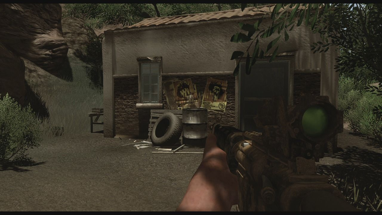 Far Cry 2 Xbox 360 When you clear certain checkpoint of enemy guards, you can claim them as your safehouses where you can save your game, resupply, or take a nap.