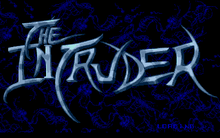 Intruder Atari ST Title screen