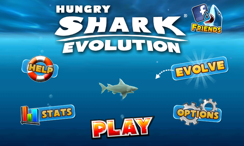 Hungry Shark: Evolution Screenshots for Android - MobyGames