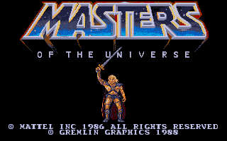 Masters of the Universe: The Movie Atari ST Title screen 2
