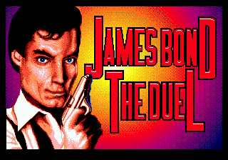 James Bond 007: The Duel Genesis Title Screen