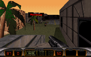 Duke Nukem's Penthouse Paradise DOS How conveniently close to your hotel