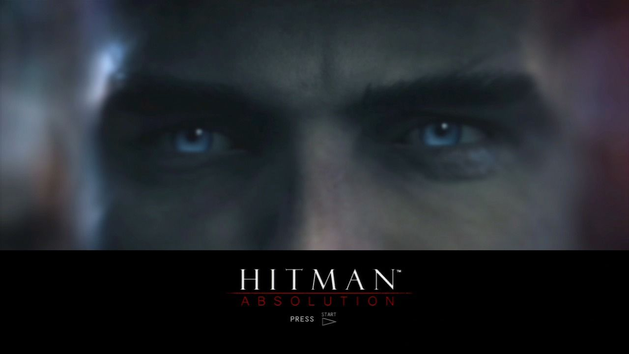 Hitman: Absolution PlayStation 3 Main title.