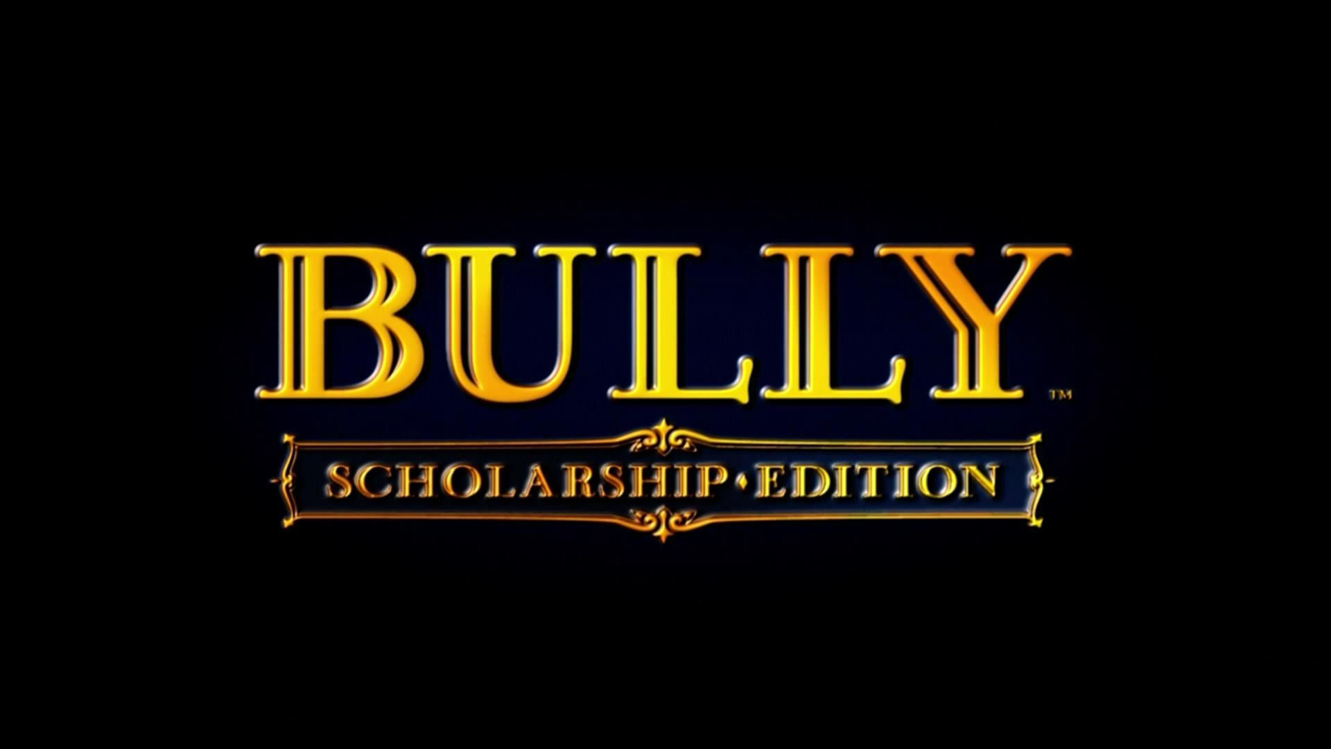 Bully: Scholarship Edition Xbox 360 Title screen