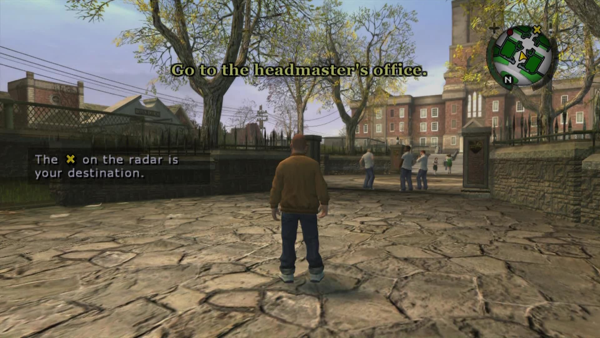 Bully: Scholarship Edition Xbox 360 Ingame tutorial