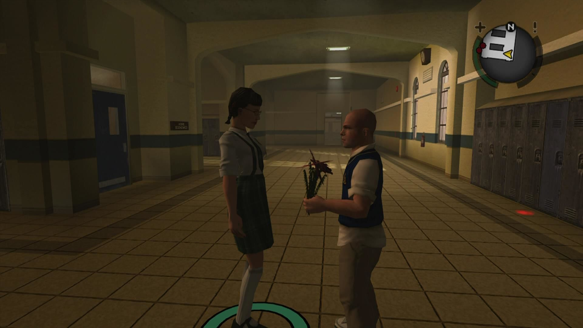 Bully: Scholarship Edition Xbox 360 Give flowers to the ladies ...