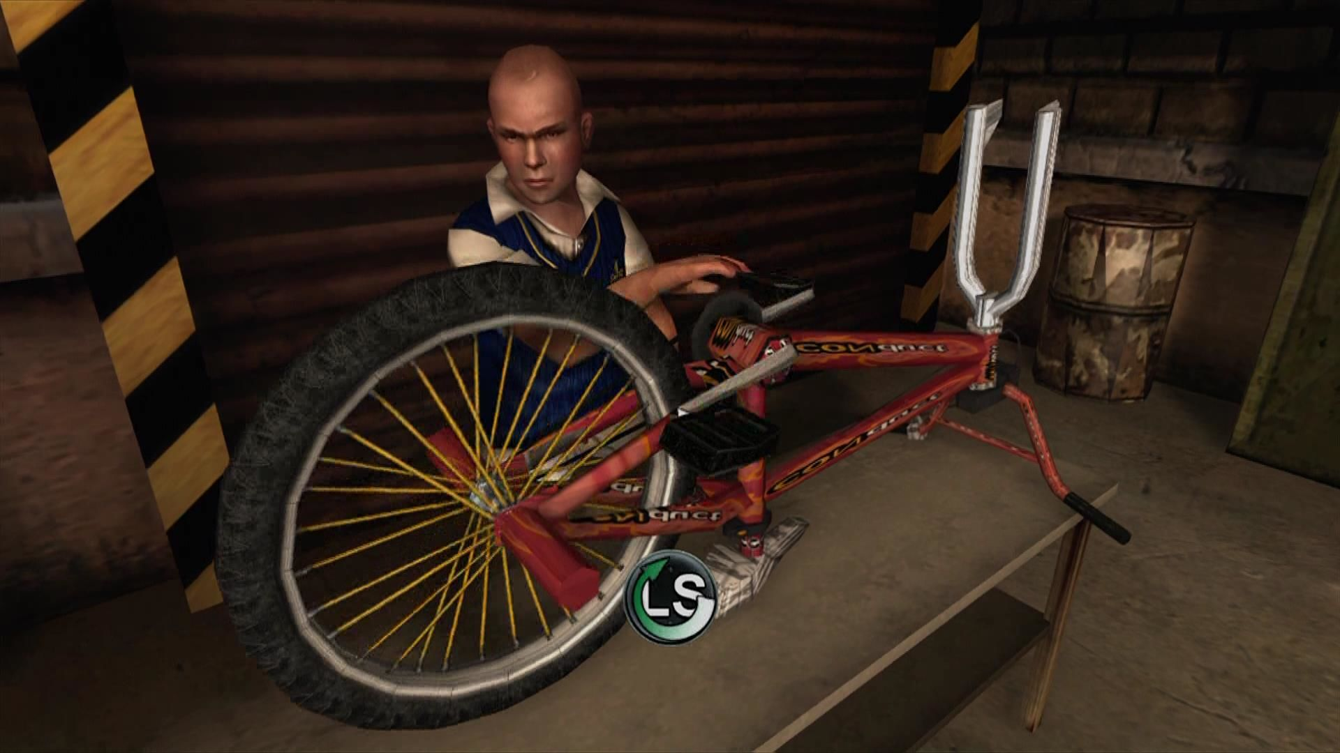 Bully: Scholarship Edition Xbox 360 Shop class. Complete these to upgrade your bike.