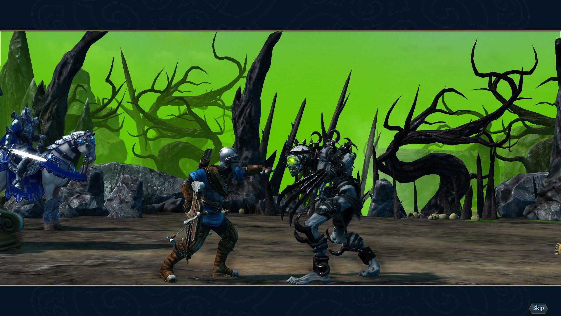 Might & Magic: Heroes VI Windows Action camera kicks in every once in a while during combat.