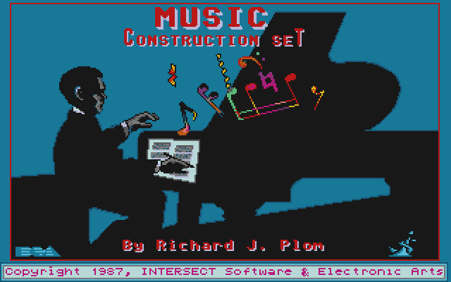 Will Harvey's Music Construction Set Atari ST Title screen
