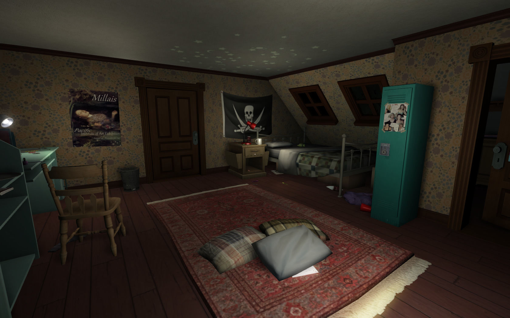 Gone home screenshots for windows mobygames for 3d room decoration game