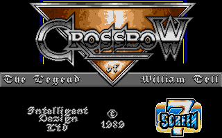 The Legend of William Tell Atari ST Title screen