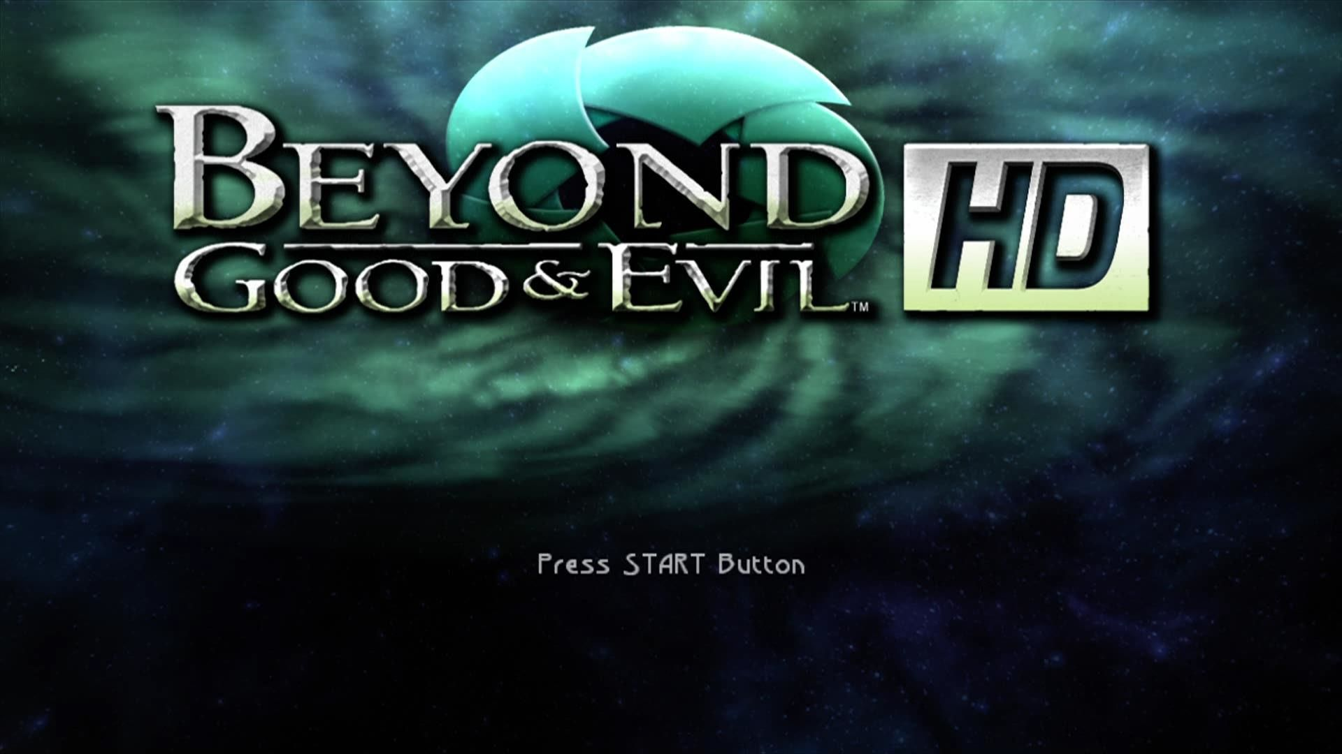 Beyond Good & Evil Xbox 360 Start screen