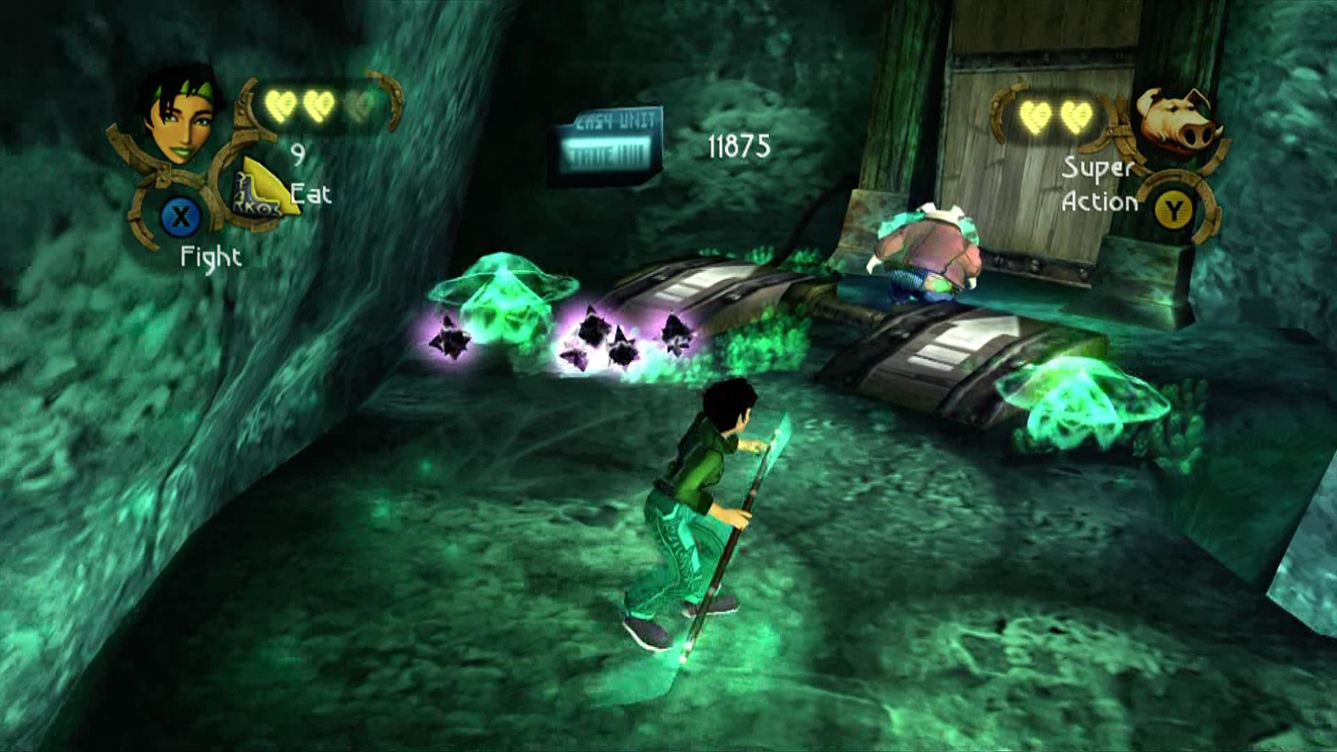 Beyond Good & Evil Xbox 360 Enemies leave crystals behind which convert to money