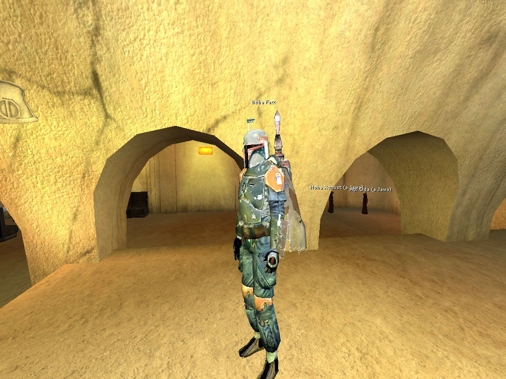 Star Wars: Galaxies - An Empire Divided Windows Famous Bounty Hunters hanging around Jabba's Palace