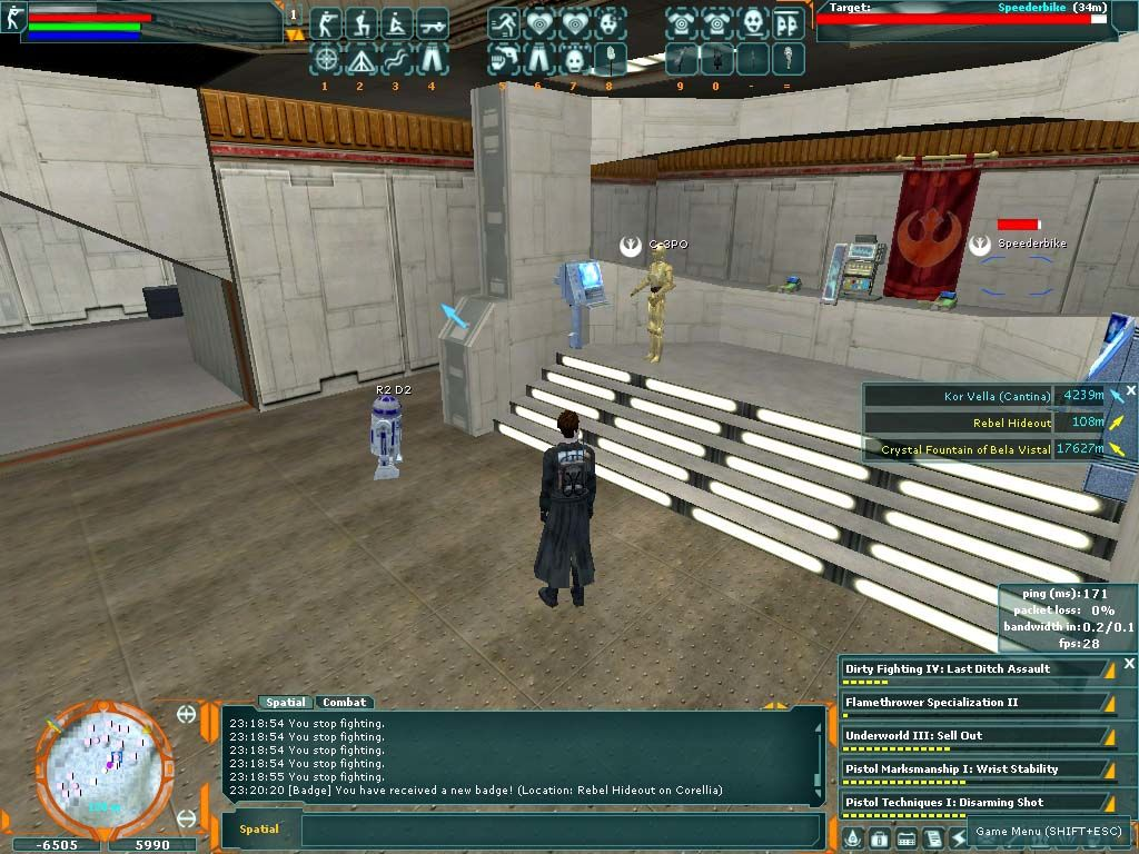 Star Wars: Galaxies - An Empire Divided Windows I am See Threepio and this is my counterpart, Artoo Detoo