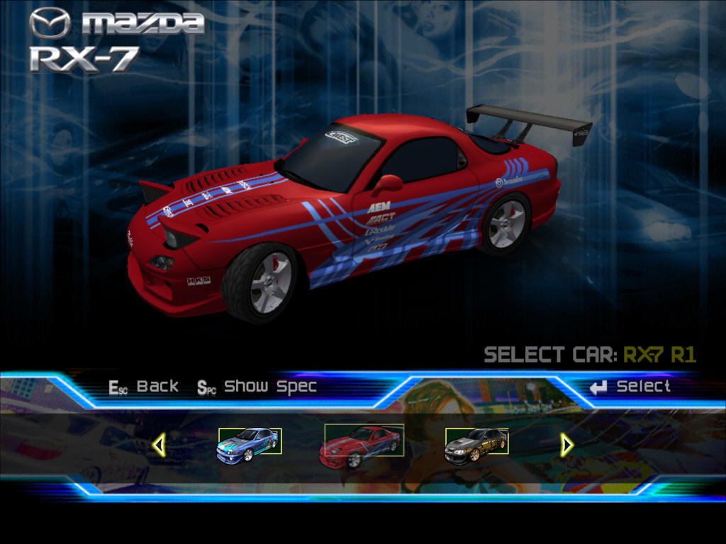 SRS: Street Racing Syndicate Screenshots for Windows - MobyGames