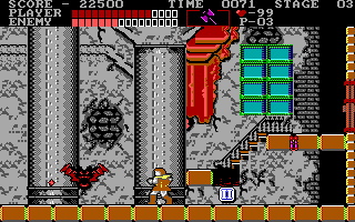 "Castlevania DOS ""Boss fight"""