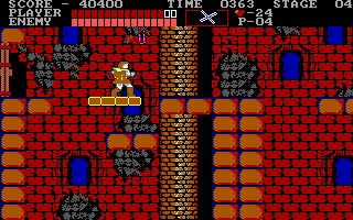 Castlevania DOS Moving platform