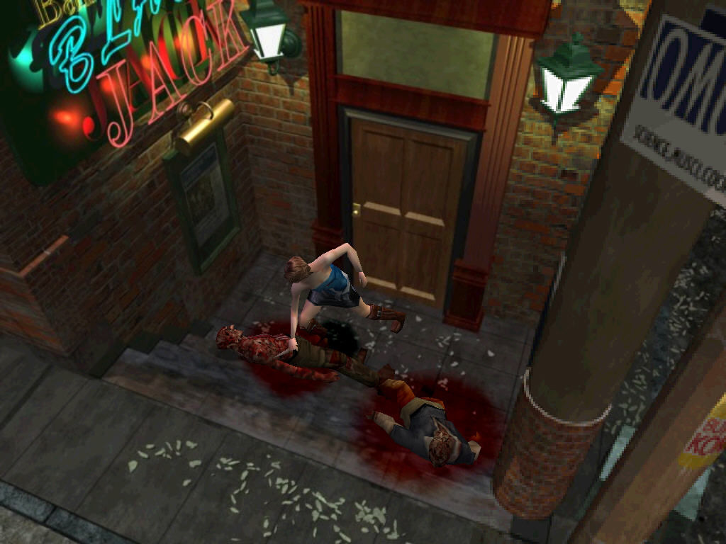 Resident Evil 3: Nemesis Windows Knife in action