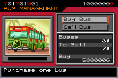Jurassic Park III: Park Builder Game Boy Advance Visitors do not want to walk very far, so buy some buses to transport them around your park
