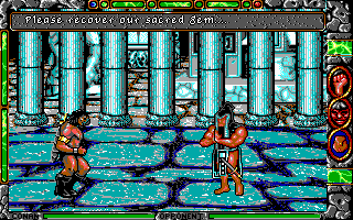 Conan: The Cimmerian DOS Temple (EGA)