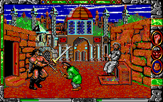 Conan: The Cimmerian DOS Enemy is too short! (EGA)