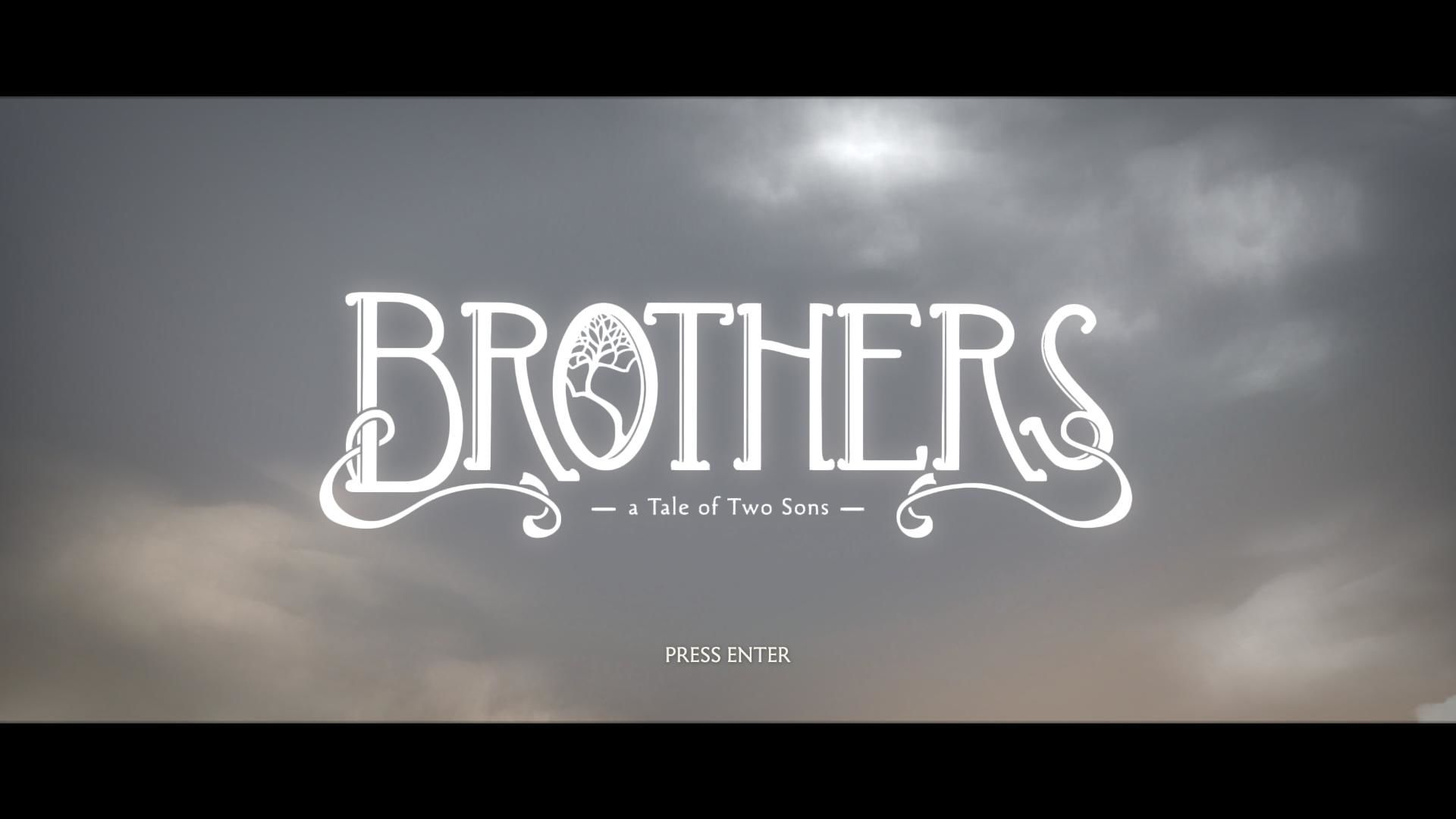 Brothers: A Tale of Two Sons Windows Title Screen